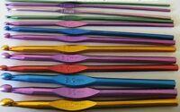 aluminium crochet hook 15cm long