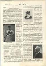 1898 LA SIGNORINA Julie PETERSON MISS VIOLET Ludlow MR JH Stoddart