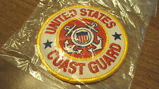 USA United States Coast Guard shield pocket patch