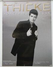 Robin Thicke Something Else Black & White Poster 24x18