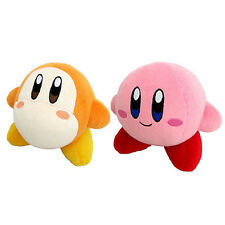 Set of 2 Little Buddy All Star (1401) Waddle Dee & (1400) Kirby Plush Doll Toy