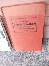 Deutsche Sprachlehre, für höhere Schulen, von Otto Mensing, Ausgabe C, aus dem V
