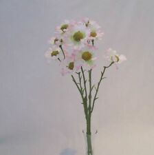 Daisy Fabric Dried & Artificial Flower Bunches