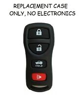 New Replacement Keyless Remote Key Car Fob Case Shell Button Pad Fix - 4 Btn