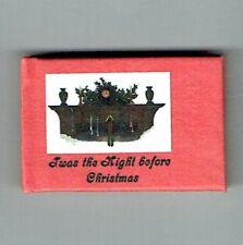 Dollshouse Miniature Book - The Night Before Christmas