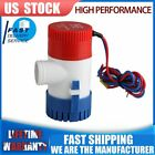 Submersible Marine Electric Bilge Sump Water Pump for boat low noise 12V 1100GPH photo