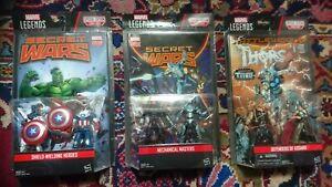 Marvel Universe/Legends Comic Action Figure 2 Pack x 3  3.75 inch