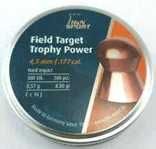 H&N SPORT FIELD TARGET TROPHY POWER .177 Copper 8.80 Air Gun PELLETS (300 ct.)