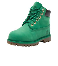 "Timberland 6"" Premium Boots Celtic Green Size 10 Toddlers Very Nice!!!"