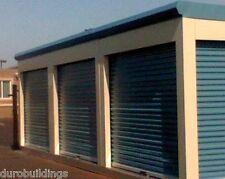 DuroSTEEL JANUS 9'x8' Commercial 1000 Series Metal Roll-up Door & Hdwe DiRECT