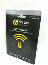 Symantec Norton WiFi Privacy - 10 Devices 1Year Subscription  #1765