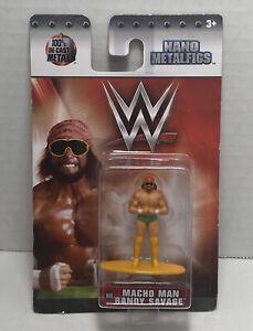 2017 JADA WWE Nano Metalfigs Figure Macho Man Randy Savage Wrestling Figure