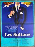 Plakat Les Sultans Davis Gina Lollobrigida Jourdan Corinne Kaufmann 60x80cm