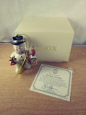 Lenox 2006 Annual Starlight Snowman Tree Ornament Lantern Star Christmas In Box