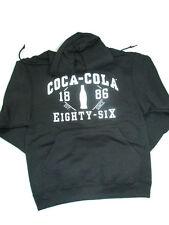 Coca-Cola Black Hoodie Sweatshirt Est. 1886 2X-Large 2XL - BRAND NEW