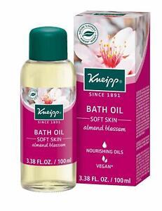 Kneipp Herbal Bath Oil, Soft Skin, Almond Oil, 3.38 fl. Oz