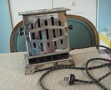 "Antique Double Sided Flip Open TOASTER~ "" Works Real Well ""  Made is USA"