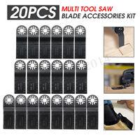 20x35mm Mix Oscillating Multi Tool Saw Blades For Bosch Fein MultiMaster Makita