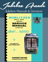 new wurlitzer wall box model 5250 w 2100 stepper service parts rh ebay co uk service manual 2240 jd service manual 2255-691