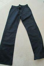 Boys Chaps Navy Plain Front Slacks, Size 14