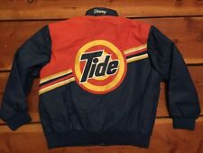 RARE🔥 Jeff Hamilton Tide Downy Team Nascar Racing Leather Jacket Size 2XL XXL