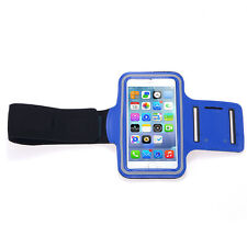 Outdoor Gym Sport Armband Skin Case Cover for iPhone 5/5s - Blue