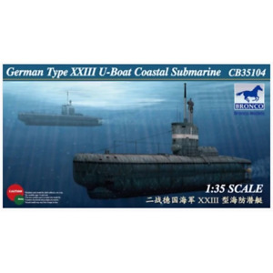 Bronco CB35104 1/35 German Type XXIII U-Boat Coastal Submarine Brand New