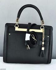 New Trend GuEsS Limited Handbag Ladies Annalisa Bag Black Satchel Tote