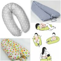 MATERNITY NURSING PILLOW CUSHION RELAX BREAST FEEDING LONG SUPPORT WOMAN BABY