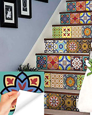 Wall Tile Stickers Talavera Tiles Tile Decals Kitchen Tile Decals Stickers 24 PC
