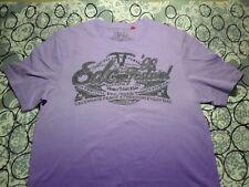 Fits Smaller For An XL- EDC Purple Tie-Dye T- Shirt