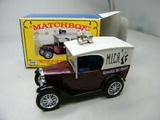 Matchbox MoY C2 Y-65 Austin Seven MICA blaue Sitze seltene Version - OVP K01