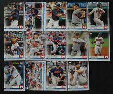 2019 Topps Series 1 Cleveland Indians Team Set 14 Baseball Cards