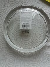 NEW YANKEE CANDLE GLASS DISH