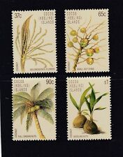 COCOS Islands 1988 LIFE CYCLE of the COCONUT design set MNH - PALM Trees.Flora