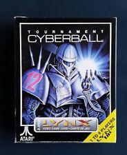 TOURNAMENT CYBERBALL   Atari LYNX New Sealed Complete