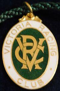 1967 ~ 68 VICTORIA RACING CLUB MEMBERS FOB / BADGE - STOKES - PERFECT