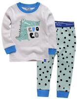 "Vaenait Baby Toddler Kids Clothes Long  Pajama Set ""Mint Croco"" 12M-12Y"