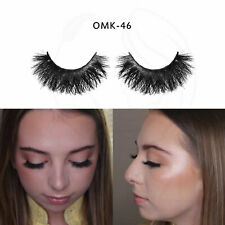 100% Handmade Lashes Makeup Lash 3D Mink Eyelash Extension False Fake Eyelashes