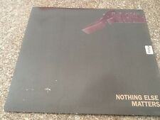 "RARE - Nothing else matters / Enter Sandman 7"" Vinyl single by Metallica  mint"