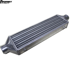"""2.5"""" inch INLET/OUTLET FMIC TURBO ALUMINUM INTERCOOLER Tube and Fin 510x160x65mm"""