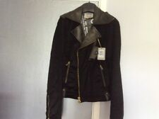 Guess Leather Jacket, Nwt. Size L