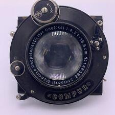 STEINHEIL MUNCHEN DOPPELANASTIGMAT UNOFOKAL 135mm f/4.5 Large Format Lens COMPUR