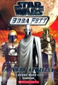 A New Threat (Star Wars: Boba Fett, Book 5) - Paperback - GOOD