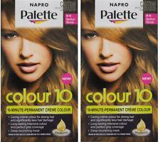 2 x NAPRO PALETTE COLOUR 10 PERMANENT HAIR COLOUR 8-0 MEDIUM BLONDE Brand New