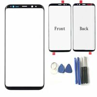 Front Écran LCD Touch Screen Glass Vitre Tactile Pour Samsung Galaxy S8 S8 Plus
