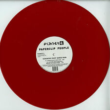 """Paperclip People-Country Boy goes Dub (Marcel DETTMANN Remix) 12"""" RED VINYL!!!"""