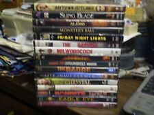 (16) Billy Bob Thornton DVD Lot: Sling Blade Armageddon The Alamo Monster's Ball