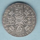 Great Britain. 1787 George 111.. Shilling.. With Hearts.. aUNC - Much Lustre
