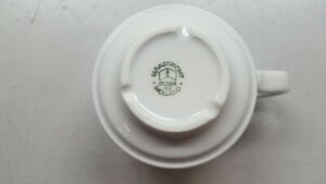 Vintage Mosa Maastricht Dutch Set of 4 Tea Cups